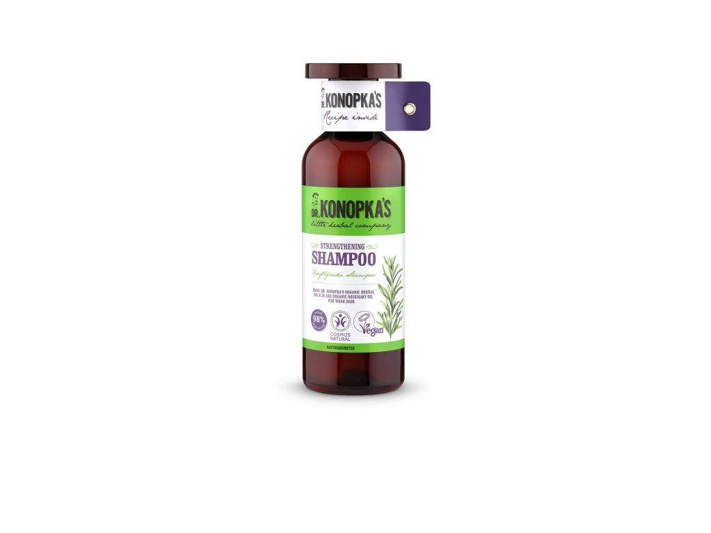 Dr. Konopka's Posilující šampon na vlasy, 500ml