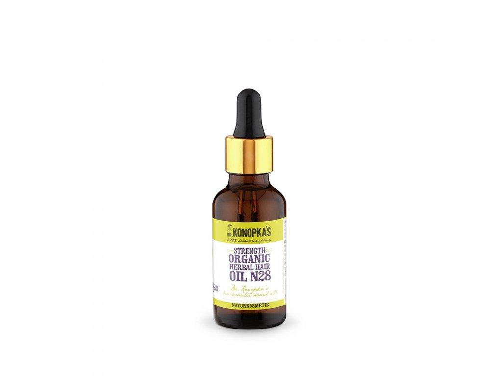 Dr. Konopka's Organický bylinný vlasový olej č. 28