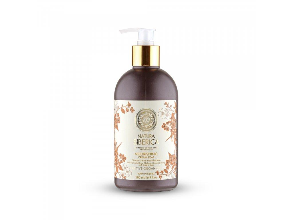 Natura Siberica Výživné krémové mýdlo, 500 ml