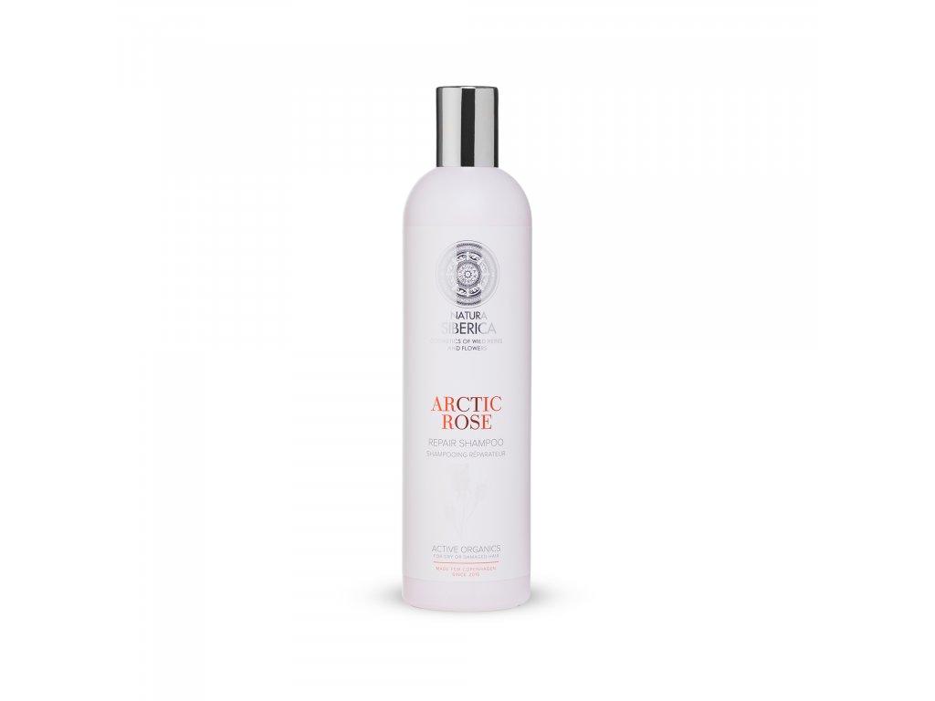 Sibérie Blanche Regenerační šampon Akrtická růže, 400 ml