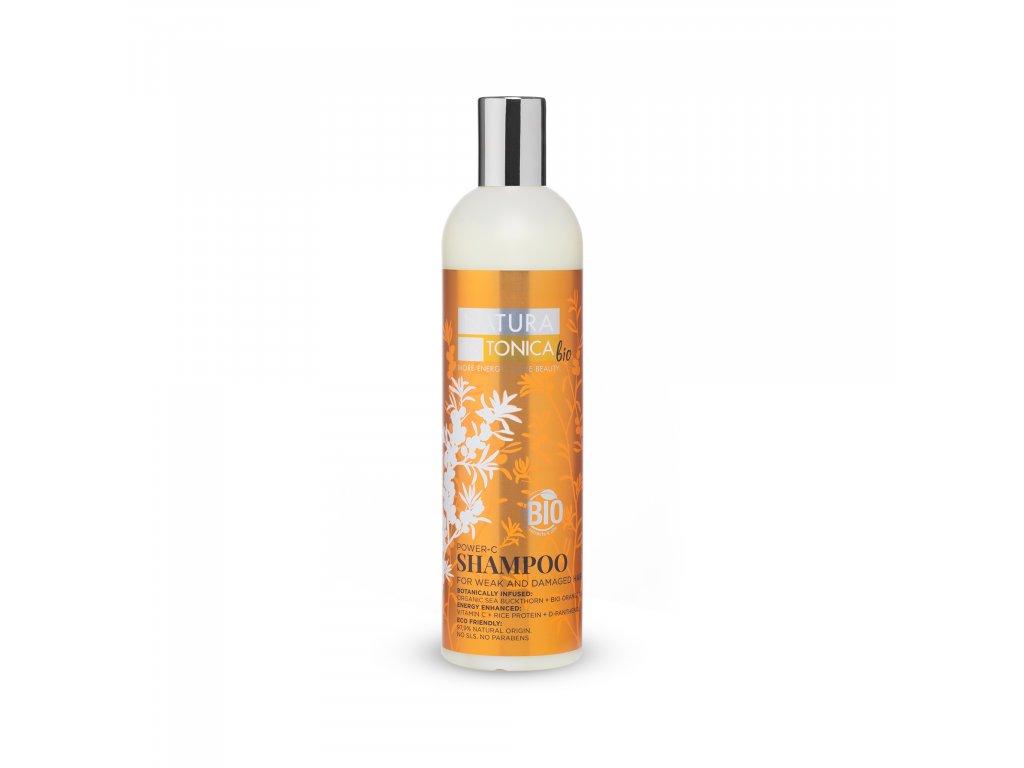 Natura Estonica Bio Šampon s vitamínem C, 400 ml
