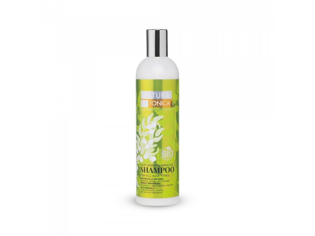 Natura Estonica Bio Šampon pro podporu růstu vlasů, 400 ml