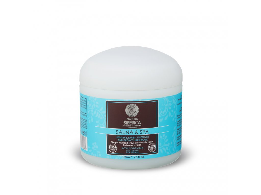 Sauna & Spa Vlasová maska pro posílení pokožky a podporu růstu vlasů