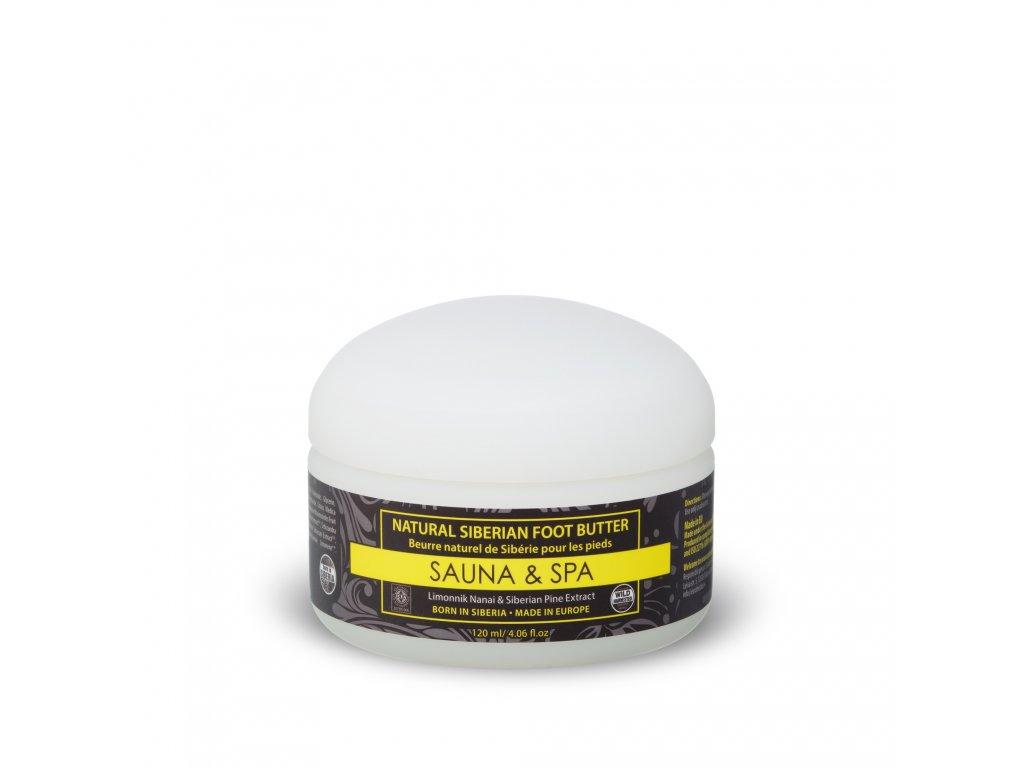 Sauna & Spa Přírodní sibiřské máslo na nohy