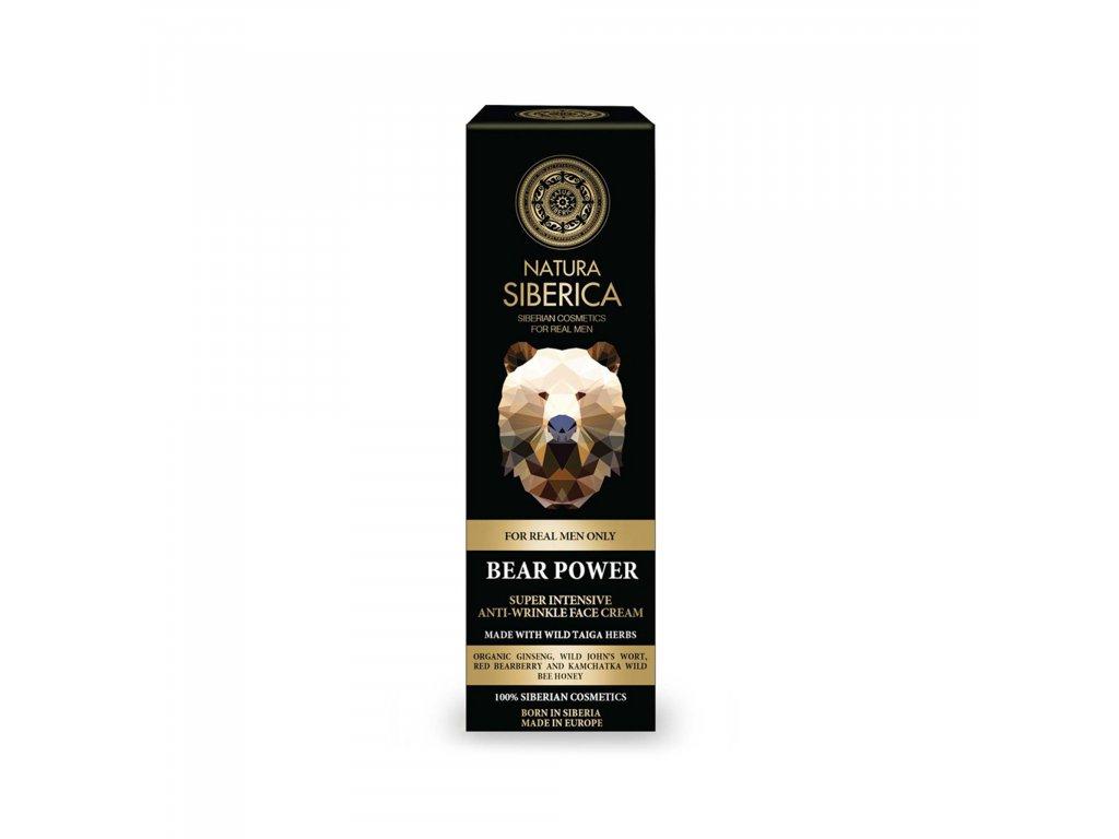 For MEN Krém proti vráskám Síla medvěda, 50 ml