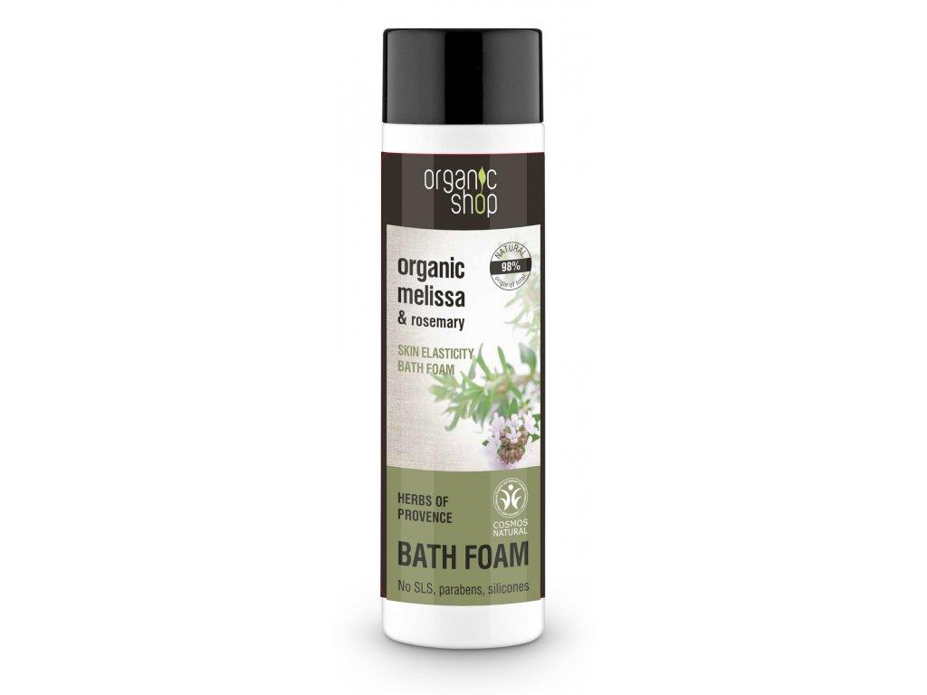 Organic shop Pěna do koupele pro pružnost pokožky Byliny z Provance, 500ml