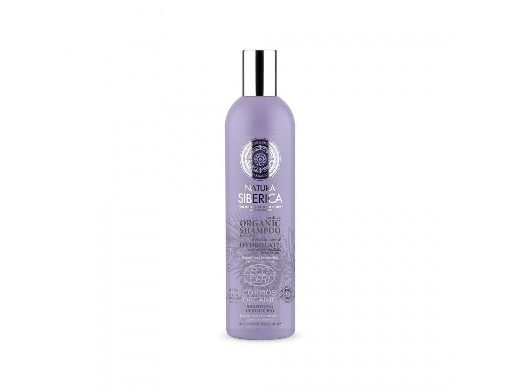 Hydrolates Obnovující šampon pro poškozené vlasy, 400ml