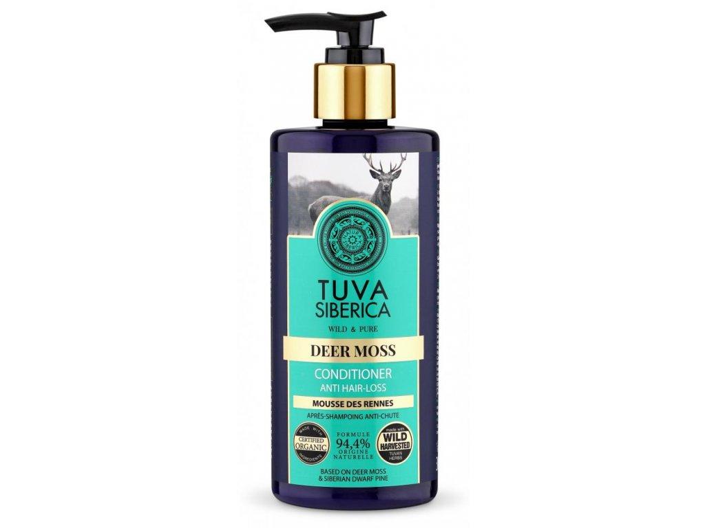 TUVA Siberica, Deer Moss, kondicionér, proti vypadávání vlasů, 300 ml