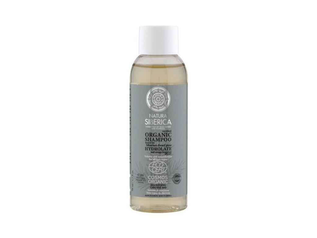 Natura Siberica, Šampon Vyživující a Objemový a Cestovní balení, 50 ml