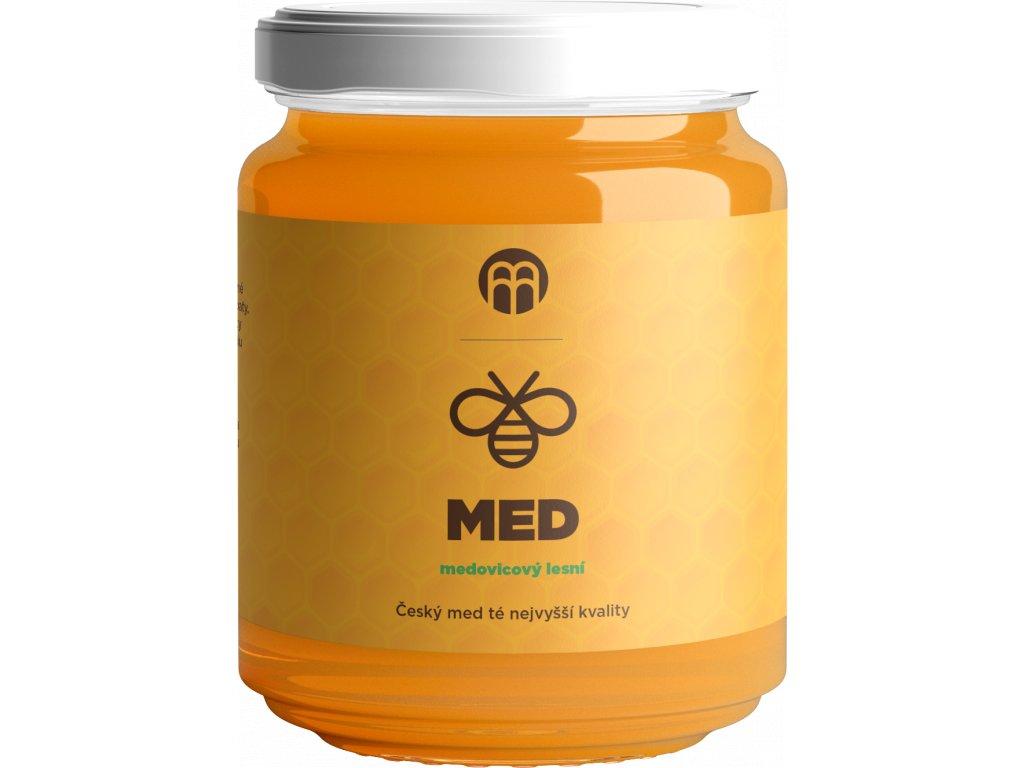BrainMarket - Med medovicový lesní, 475 g