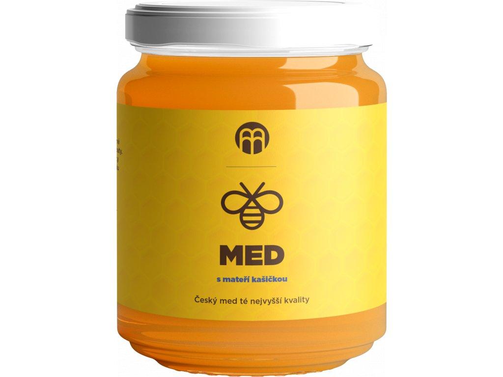 BrainMarket - Med s mateří kašičkou, 250 g