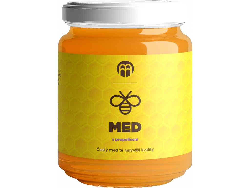 BrainMarket - Med s propolisem, 250 g