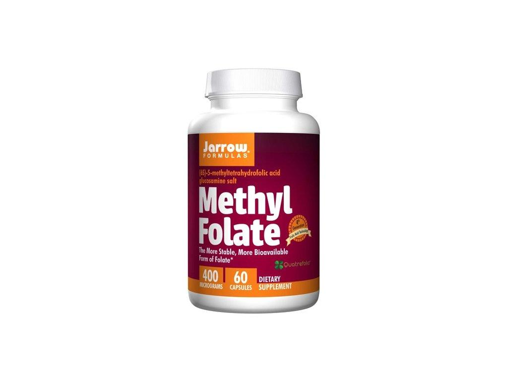 Jarrow Methyl Folate (Aktivní forma kyseliny listové), 400mcg, 60 kapslí