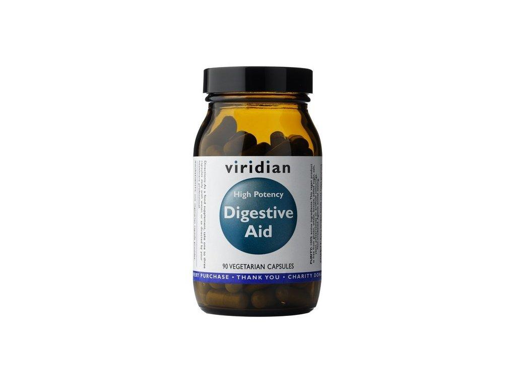 Viridian High Potency Digestive Aid (trávicí enzymy) - 90 kapslí
