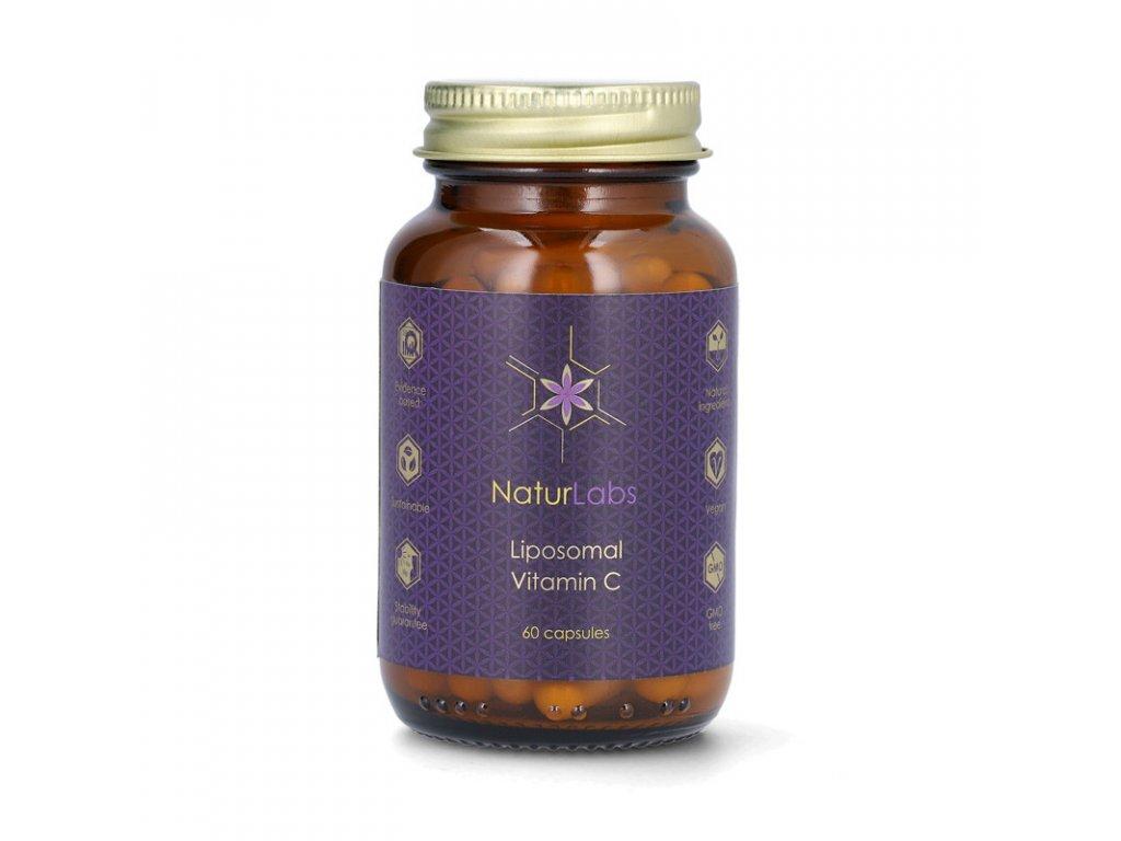NaturLabs - Liposomální vitamín C, 250 mg, 60 kapslí