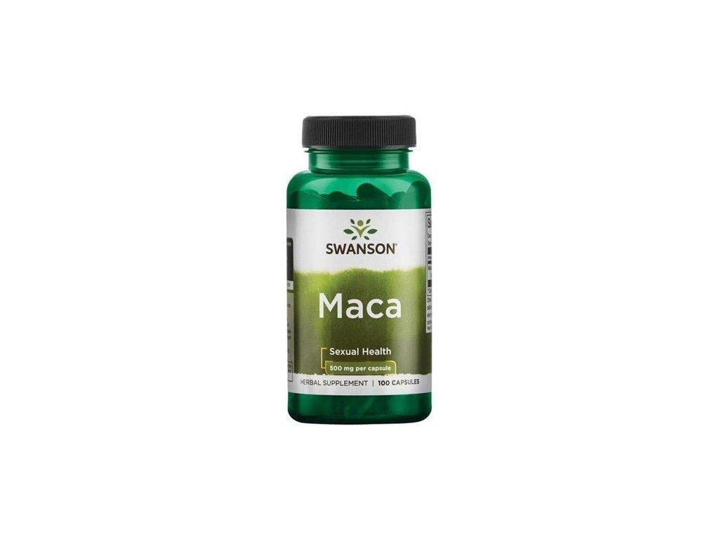 Swanson Maca, 500 mg, 100 kapslí
