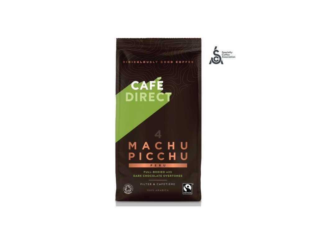 Cafédirect - BIO Machu Picchu SCA 82 mletá káva 227g