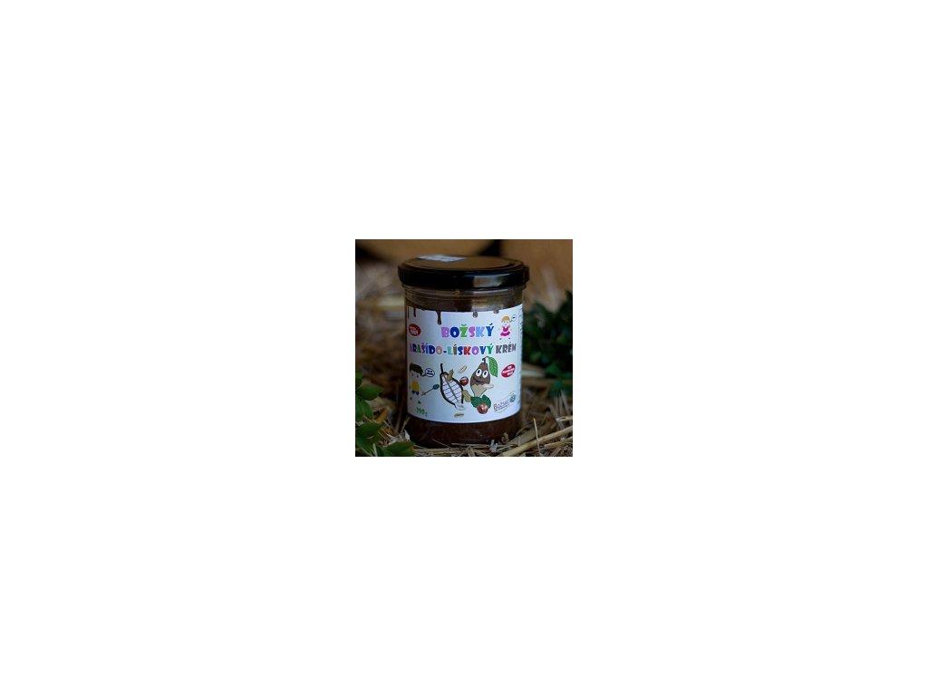 Božské Oříšky - Božský lísko-arašídový krém, 390g