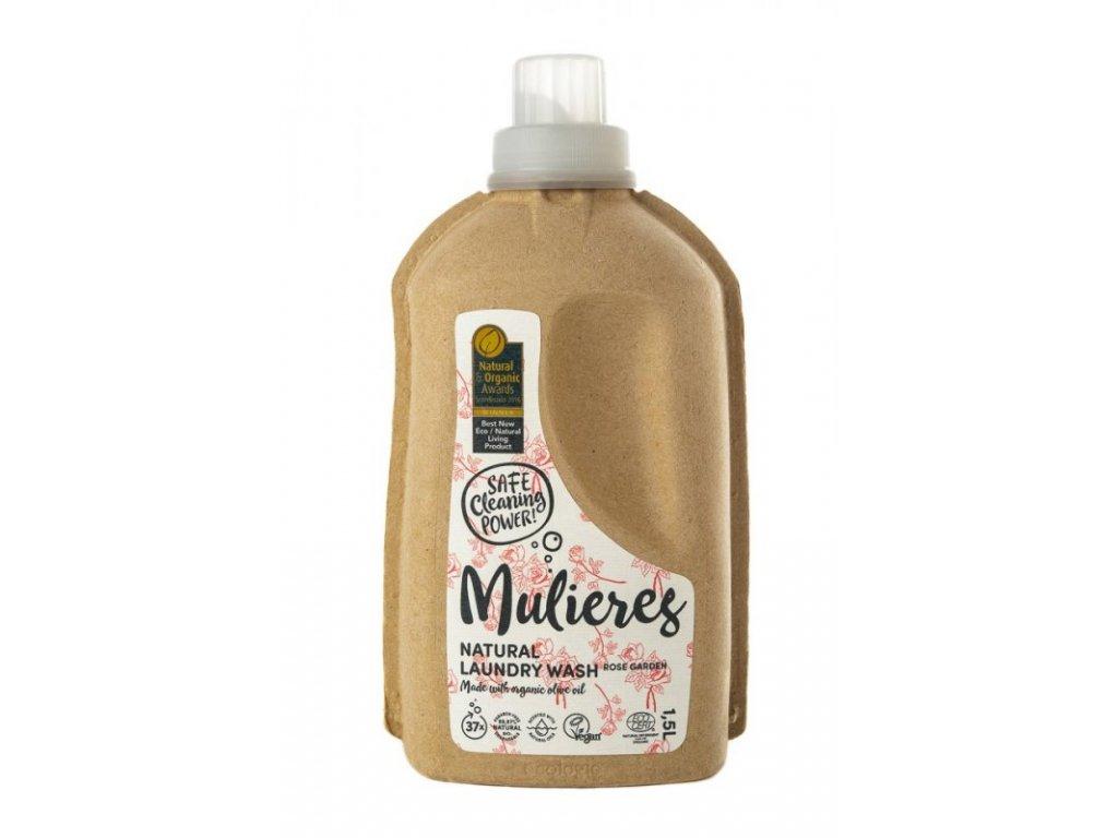 Mulieres Koncentrovaný prací gel (1,5 l) - Růžová zahrada