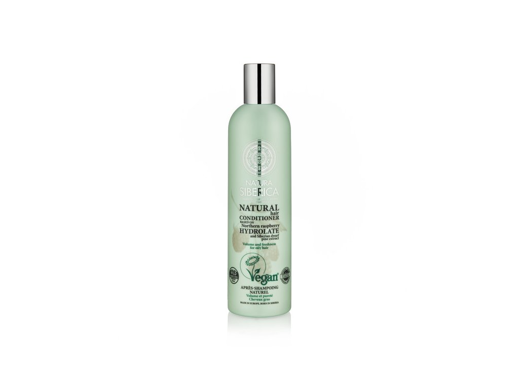 natura siberica volume and freshness conditioner for oily hair 400ml