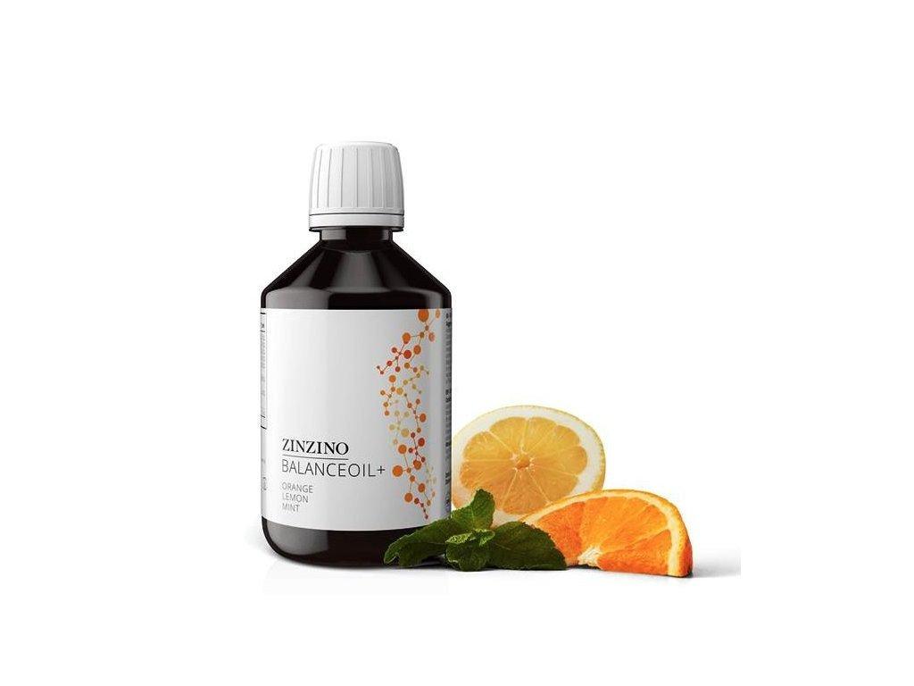 Zinzino BalanceOil 1300mg EPA / 700mg DHA, 300ml, Pomeranč, citron, máta