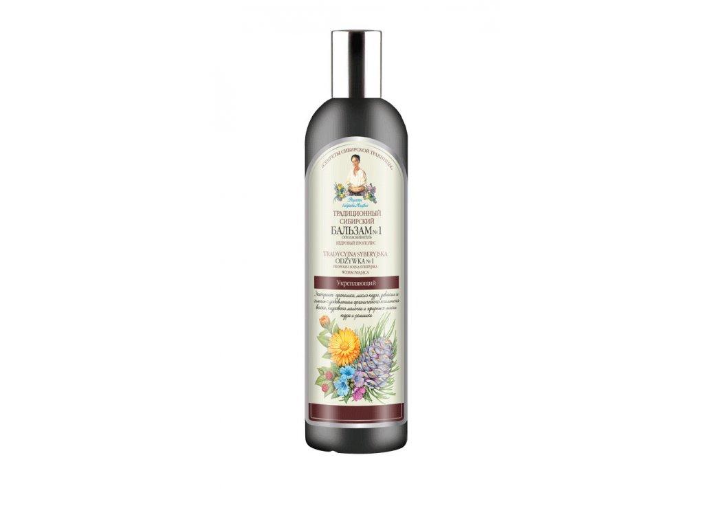 Agafja balzám na vlasy č. 1 - Borový propolis 550 ml