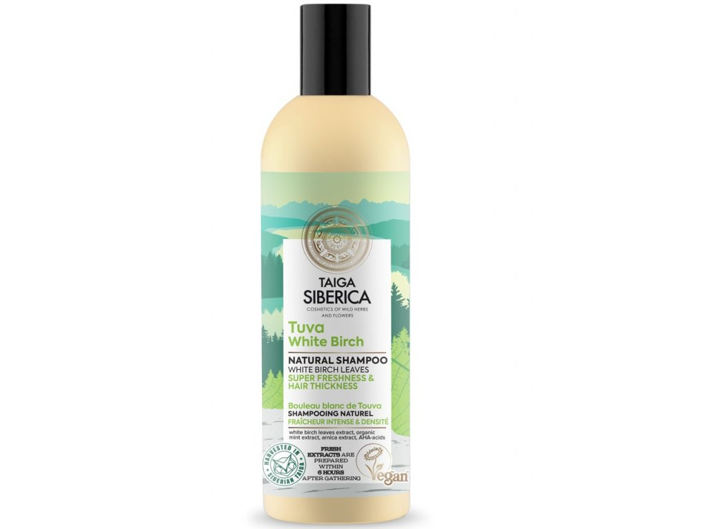 Taiga Siberica Shampoo Tuva White Birch 270ml (2)