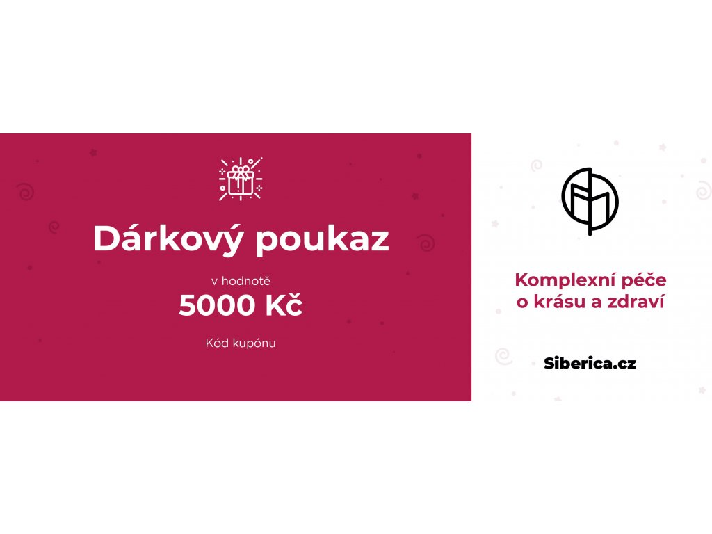 darkový poukaz Siberica 5000