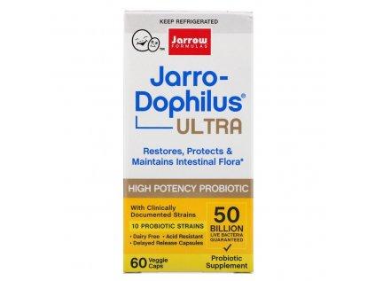 Jarrow Jarro-Dophilus Ultra, 50 miliard, 10 probiotických kmenů, 60 rostlinných kapslí