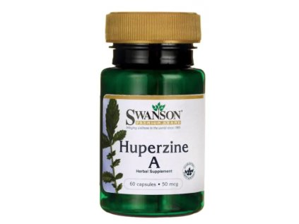 Swanson Huperzine A, 50 mcg, 60 kapslí