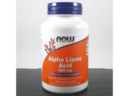 now kyselina alfa lipoova 250 120