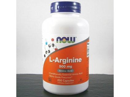 now l arginin 500 mg x 250 kapsli