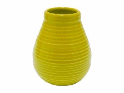 keramicka kalabasa standard yerba mate zluta 350ml original