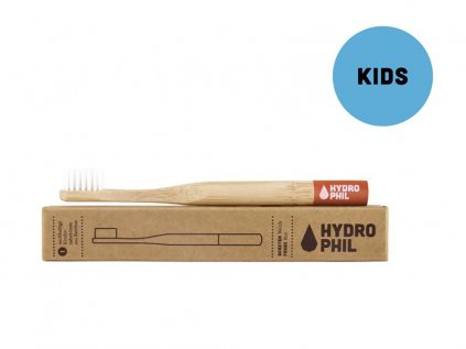 8029 1 hydrophil bambusovy kartacek pro deti cerveny soft