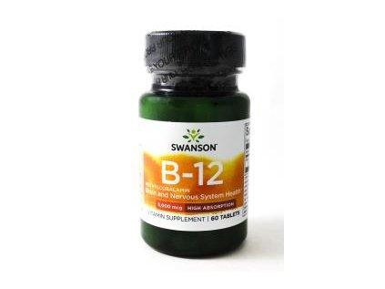 swanson metylokobalamina witamina b12 5mg 60tabl