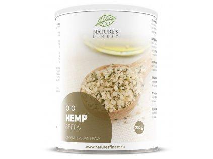 Hemp Seeds Bio 200g (Konopná semínka)  *SI-EKO-001 certifikát