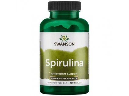 cze pm Swanson Spirulina 500 mg 180 tablet 166 1