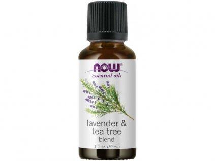 17780 now essential oil lavender tea tree oil e tericky levandulovy tea tree olej 30 ml