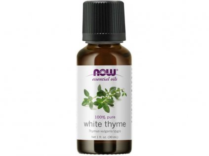 17807 now essential oil white thyme oil e tericky olej bi ly tymia n 30 ml