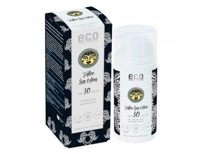 Eco Cosmetics Opalovací krém Tattoo SPF 30 BIO (100 ml)  Pro ochranu tetování