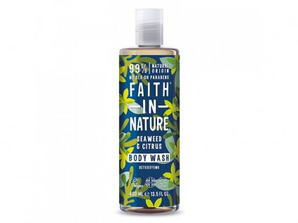 29847 faith in nature sprchovy gel morska rasa 400 ml