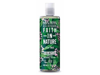 faith in nature prirodni sampon teatree 400ml 1210