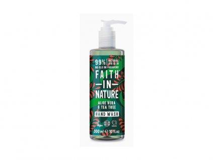 21418 faith in nature antibakterialni tekute mydlo aloe vera tea tree 400 ml