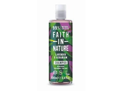 faith in nature prirodni sampon levandule 100ml