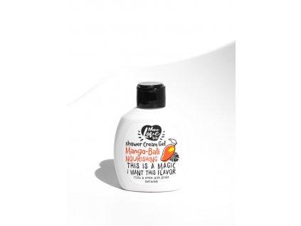 BISOU - Mini sprchový gel-krém - Mango Bali - Výživný, 100ml