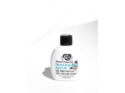 BISOU - Mini sprchový gel-krém - Kokos - Aruba - Hedvábný, 100ml