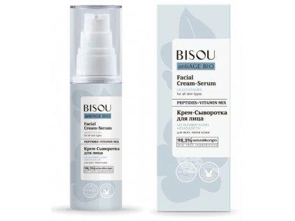 BISOU - Anti-age - Krémové sérum - multivitamín - pro všechny typy pleti, 50 ml