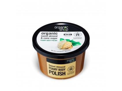 Organic shop Tělový peeling Sladké mandle