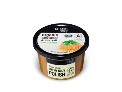 Organic shop Koupelový cukrový peeling s mořskou solí