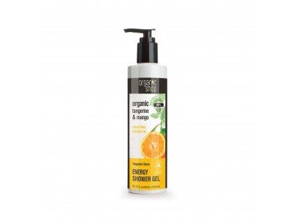 Organic shop Energizující sprchový gel Mandarinka
